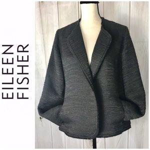 Eileen Fisher Open Front Blazer